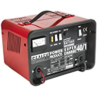 Sealey SUPERCHARGE40/1 Battery Charger Low Maintenance 18Amp 12/24V 230V preiswert