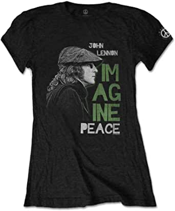 John Lennon Imagine Peace T-Shirt Femme