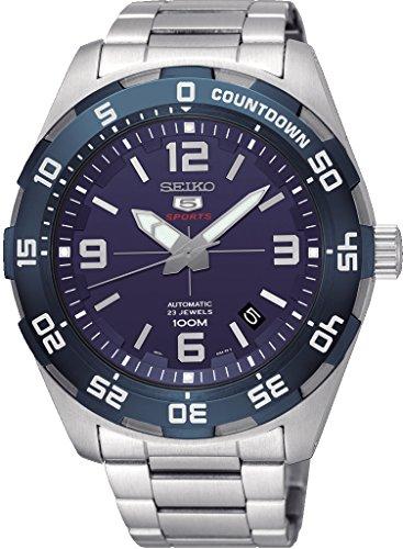 Seiko Herren Analog Automatik Uhr mit Edelstahl Armband SRPB85K1