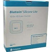 BIATAIN Silicone Lite Schaumverband 12,5x12,5 cm 10 St Verband preisvergleich bei billige-tabletten.eu