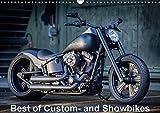 Best of Custom- and Showbikes Kalender (Wandkalender 2018 DIN A3 quer): Exklusive Custombikes von Rick´s Motorcycles (Monatskalender, 14 Seiten ) ... [Kalender] [Apr 13, 2017] Wolf, Volker