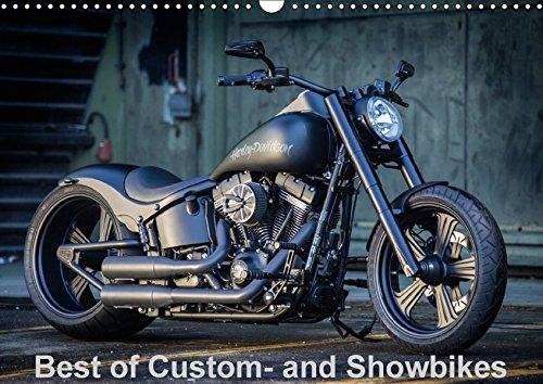 Best of Custom- and Showbikes Kalender (Wandkalender 2018 DIN A3 quer): Exklusive Custombikes von Rick´s Motorcycles (Monatskalender, 14 Seiten ) ... [Kalender] [Apr 13, 2017] Wolf, Volker -