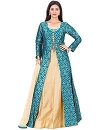 Manmandir's CottonSilk Ghagra-Skirt / Salwar Suit for Women