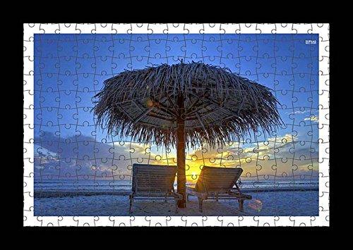 stile-puzzle-pre-assemblata-colore-paglia-da-parete-con-stampa-di-ombrello-di-sandy-beach-by-lisa-lo