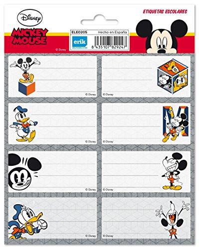 Grupo Erik Editores - Etichette, 15,8 x 20 cm Disney Classic 15.8 x 20 cm