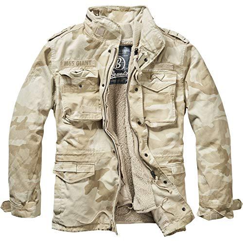 Brandit Herren Jacke M-65 Giant, Mehrfarbig (Sandstorm), Medium