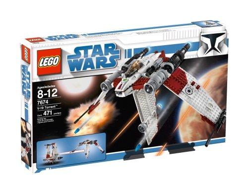 LEGO Star Wars V-19 Torrent (7674) by LEGO (English Manual)