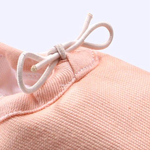Zhuhaitf Freizeit Girls Canvas Yoga Dance Shoes Gymnastics Training Flat Shoes Nude