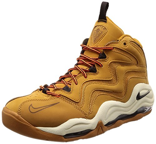 Nike, Air Pippen 325001-700 Herren schuhe, Gold (Desert Ochre/Fossil/Total Orange/Velvet Brown 700), 45 EU -