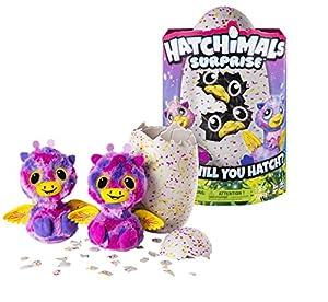 HATCHIMALS Spin Master Surprise Giraffe Pink Egg, versión importada