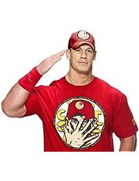 Step Shoes Men's Yellow Cotton Half Sleeve WWE T Shirts For Men(WWE Tshirt For Men_John Cena Tshirts)