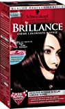 Schwarzkopf Brillance–Permanente Haarfarbe–Schwarz Rot Organdi 896