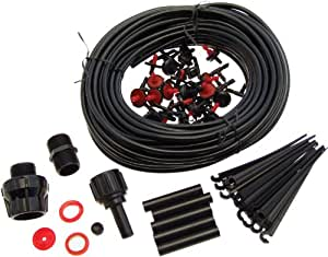 am tech container drip watering irrigation kit. Black Bedroom Furniture Sets. Home Design Ideas