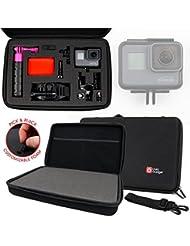 Mallette de rangement personnalisable rigide pour GoPro HERO5 Black Caméra d'action et HERO5 Session caméscope embarqué 10 et 12 Mpix