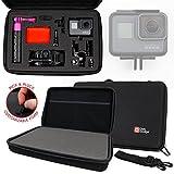 Koffer personalisierbar Hartschale für GoPro hero6Black/Hero 6und GoPro Fusion 360Helmkamera 4K/UHD