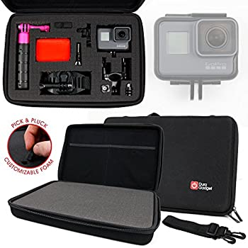 Penivo Cam/éra Sport Case,Sac /à Main Portable Housse Etui pour DJI Cam/éras daction Accessoires Protection Transport Sac /à Dos