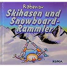 Skihasen und Snowboard-Rammler