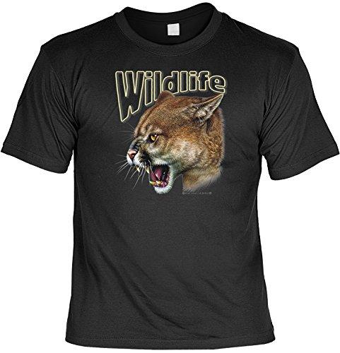 Witziges Sprüche Fun T-Shirt : Puma (Jugend-natur-t-shirts)
