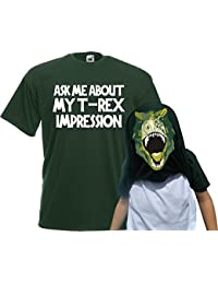 Reality Glitch Kids Ask Me About My T-Rex Flip T-Shirt
