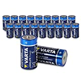 Varta 4914 LONGLIFE Power Alkaline Batterie (LR14 / Baby/C, 20er-Packung, lose in Folie)