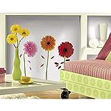RoomMates 54191 Gerbera