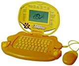 #9: Toyshine English, Maths Learning Laptop for Kids With Mouse and 78 Activities, Yellow