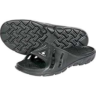 Aqua Sphere Asone, Unisex Adult Asone Sandal/Pool Shoe, Black, 10.5 UK (45 EU)