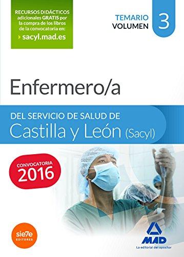 Enfermero/a del Servicio de Salud de Castilla y León (SACYL). Temario volumen III