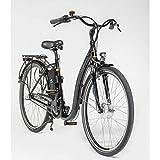 Prophete E-Bike Alu-Tiefeinsteiger Geniesser e8.4 | Fahrrad | schwarz | 250 Watt | 28