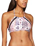 O'Neill Damen Crochette Edge high nk top Bikini Oberteile, Pink AOP, 36