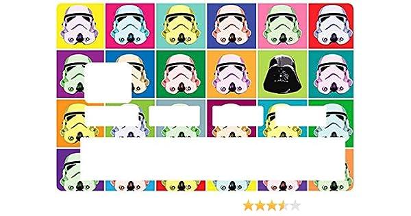Stormtrooper Sticker pour carte bancaire par le DgedeNice