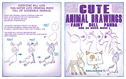 How to Draw Cute Animals: fairy, doll, panda and so much more (English Edition)
