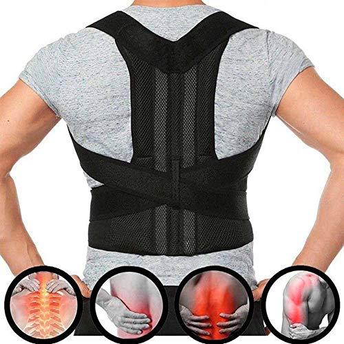 Upper Back Pain Relief Posture Corrector for Men Body Shapers Shoulder Support Belt Spine Protector Lumbar Braces - Back Shaper