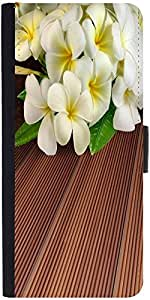 Snoogg butterfly on flowers Designer Protective Flip Case Cover For Apple Iphone 6s
