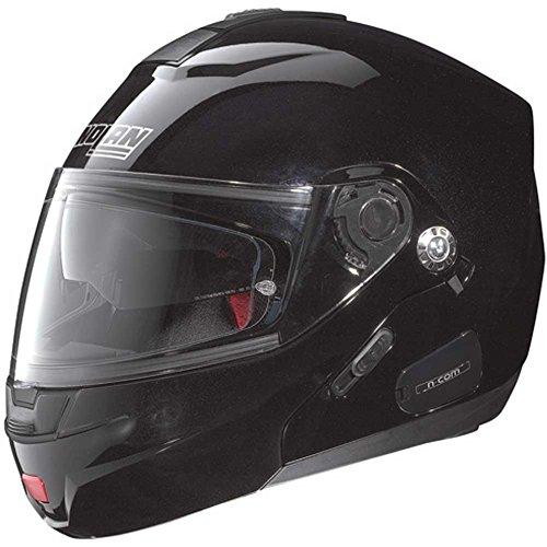 Nolan N91 Evo Special N-Com Klapphelm schwarz XS - Motorradhelm