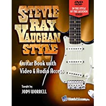Stevie Ray Vaughan Style Guitar Book - Video & Audio Access (English Edition)