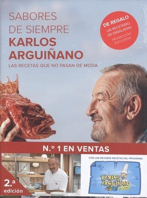 Pack Sabores de siempre (Planeta Cocina) por Karlos Arguiñano