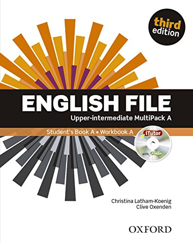 English File third edition: English file. Upper intermediate. Student's book-Workbook-Itutor-Ichecker A. With key. Con e-book. Con espansione online. Per le Scuole superiori
