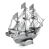 Metal Earth Fascinations GOLDEN HIND 3d Metall puzzle, Konstruktionsspielzeug, Lasergeschnittenes Modell