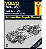 [(Volvo 740 and 760 (Petrol) 1982-88 Owner's Workshop Manual)] [ By (author) Matthew Minter ] [July, 1989]