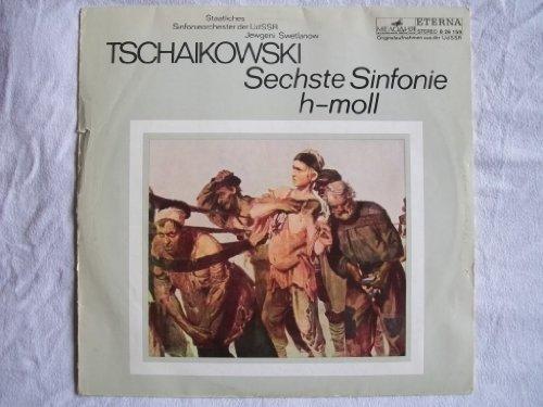 8 26 159 Tschaikowski Sechste Sinfonie USSR State Symphony Jewgeni Swetlanow LP