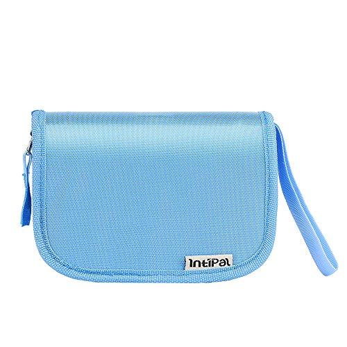 Babypflege Set – IntiPal 7-teiliges Set für Baby Alltag Pflege mit Etui BPA Frei (Blau mit Tasche) - 4