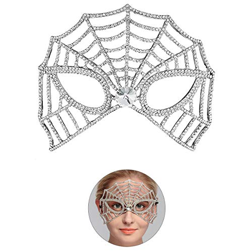 Voll Strass Braut Maske Fancy Maskerade Augenmaske für Party Ball Halloween Prom - Stil B