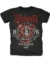 Slipknot Herren Band T-Shirt - Iowa Star