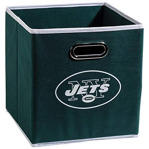 Franklin Sports NFL Team Stoff Aufbewahrungsbehälter–Made To Fit Lagerplatz Organisatoren (27,9x 26,7x 26,7cm), grün