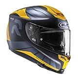 HJC Motorradhelm RPHA 70 Octar MC3SF, Schwarz/Gelb, Größe M