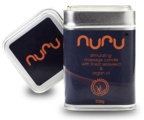 NUEVO - Nuru vela de masaje con afrodisiaco - 226g