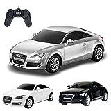 Audi TT - Original ferngesteuertes Lizenz-Fahrzeug Auto Car im Modell-Maßstab 1:24, Ready-to-Drive, inkl. Fernsteuerung