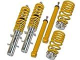 FK Automotive SMVW8009 Gewindefahrwerk von FK Version AK-Street für VW New Beetle (1C/9C) Bj. 02.98 - Komplettes Set VA/HA
