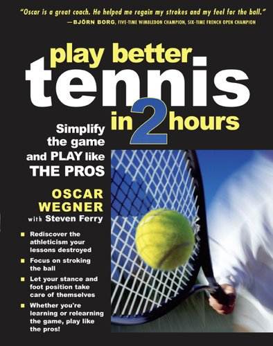 PLAY BETTER TENNIS IN TWO HOURS: Simplify the Game and Play Like the Pros (English Edition)